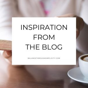 Inspiration from the Blog