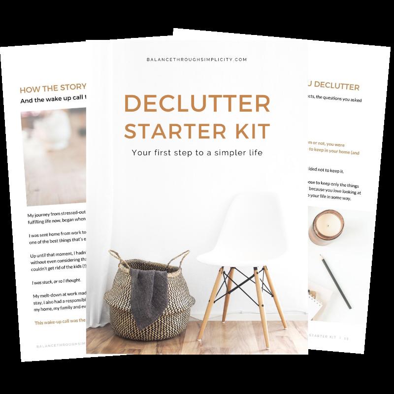 Declutter Starter Kit