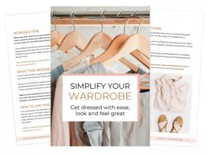 SIMPLIFY YOUR WARDROBE - WORKBOOK