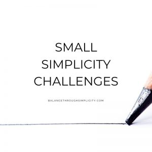 Small simplicity challenges