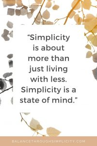 4 questions to inspire a simpler life